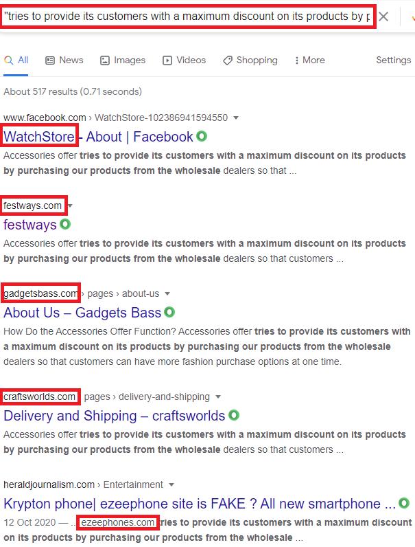 fmelastore scam copied content 2