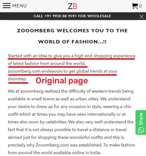zooomberg original content