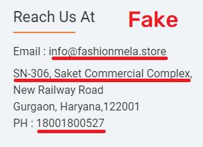 fmelastore scam fake contact details