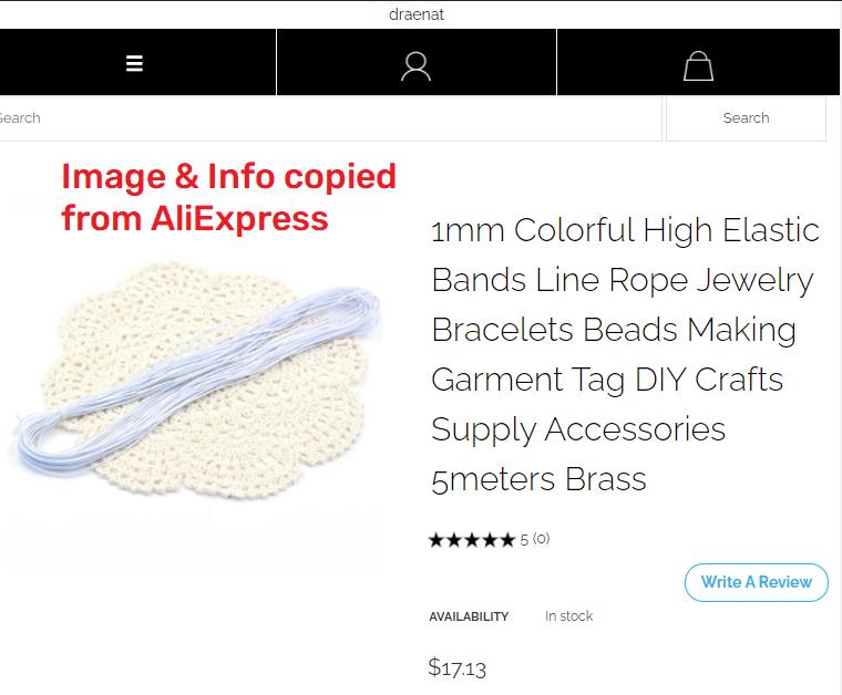draenat scam elastic bands