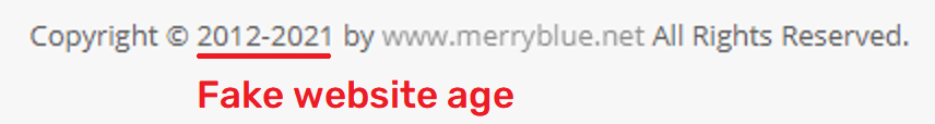 merryblue scam fake age 2