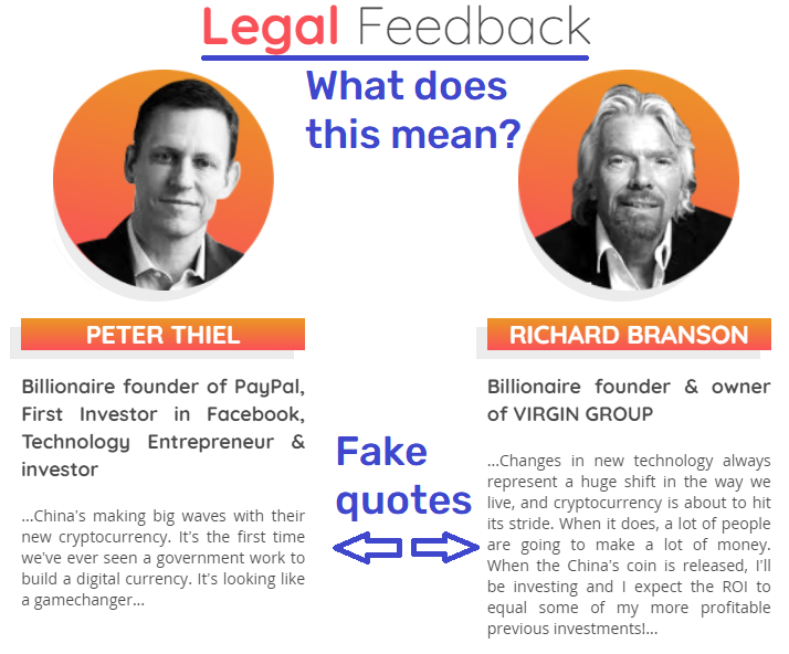 fake quotes richard branson peter thiel