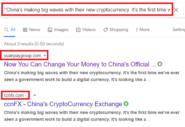 Yuanpaygroup scam fake quotes 1