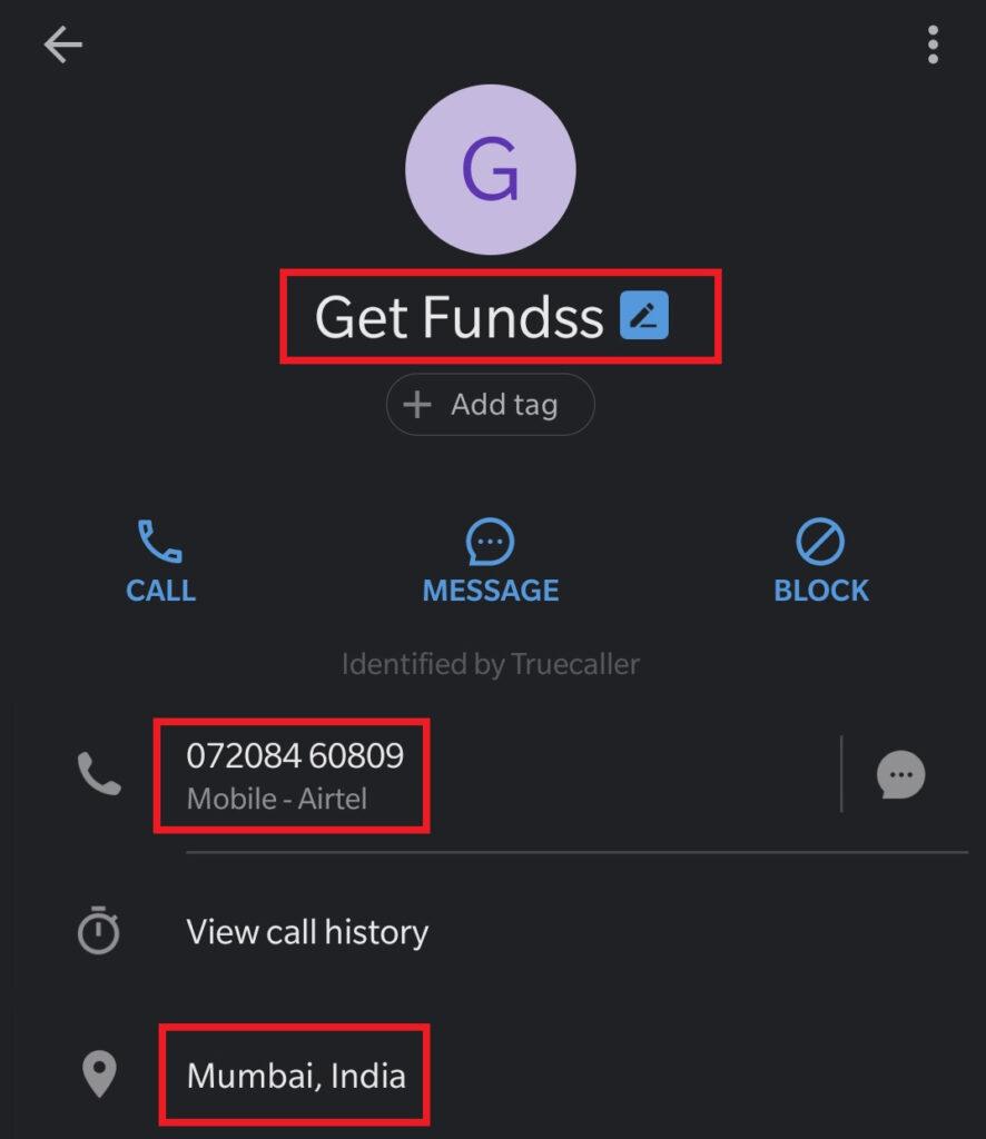 globexx scam truecaller