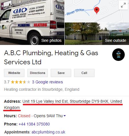abc plumbing west midlands