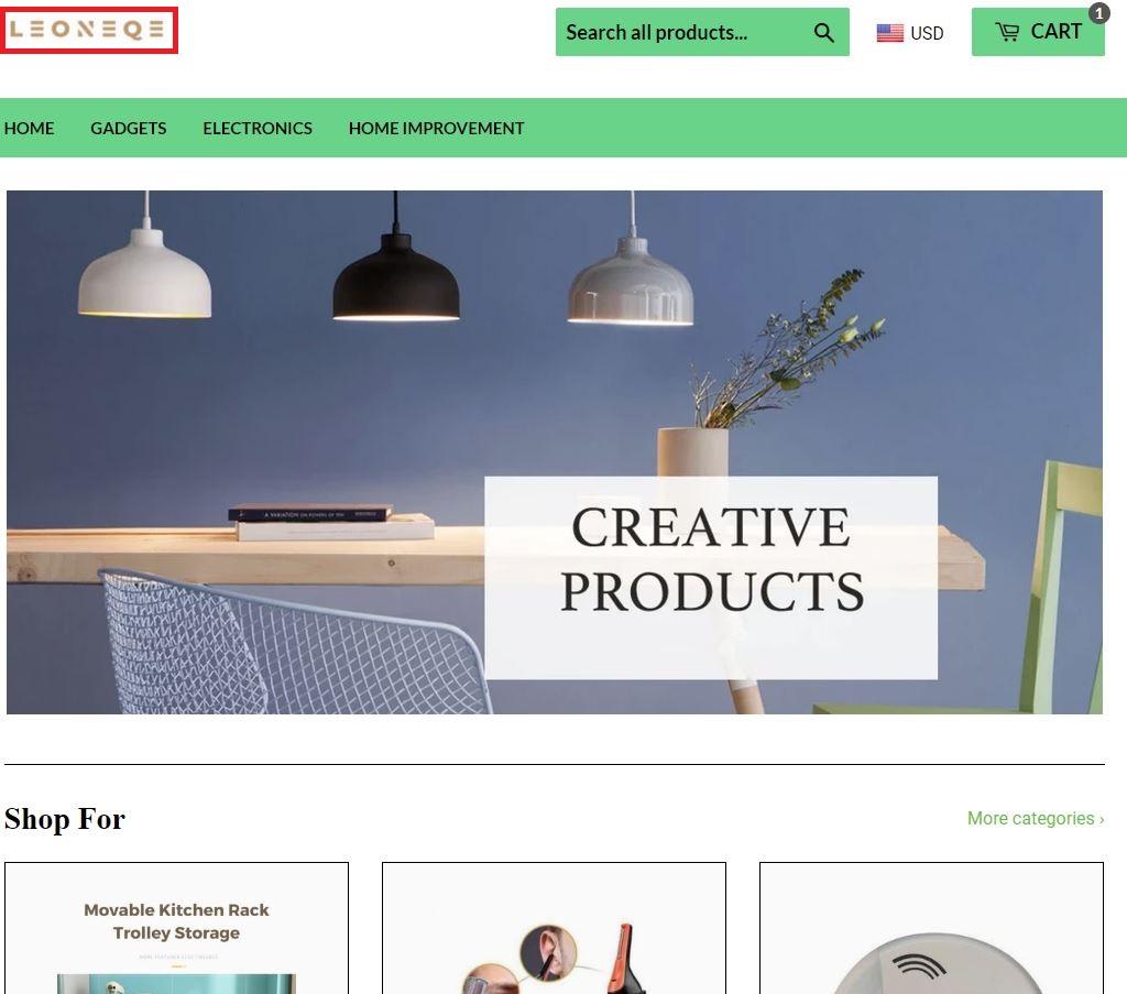 leoneqe scam home page comparison