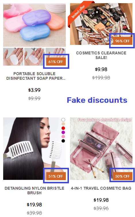 shemby scam fake discounts