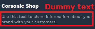 dummy text