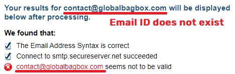 globalbagbox scam fake email id