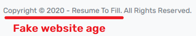 resumetofill scam fake website age