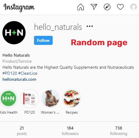 hello naturals clearlice social media 3