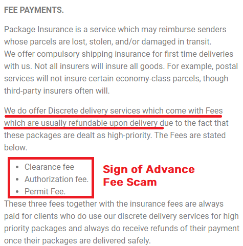 globalinexpress global line express scam advance fees