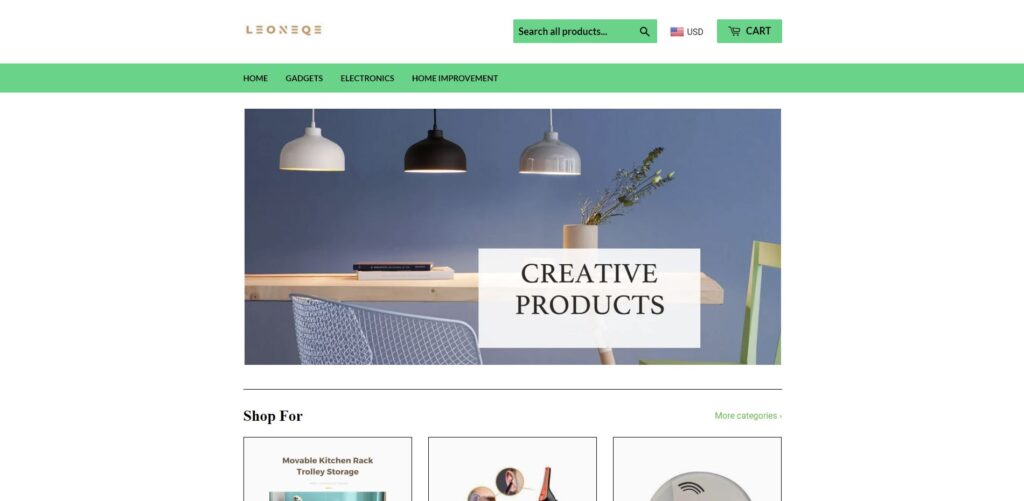 leoneqe scam home page
