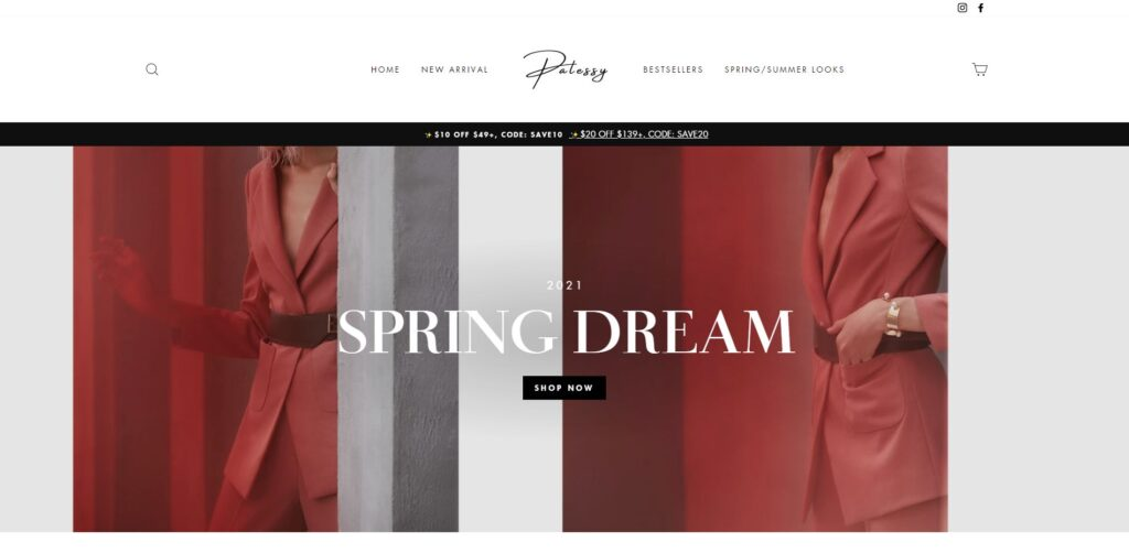 palessy scam home page