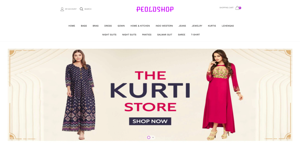 peoldshop scam home page