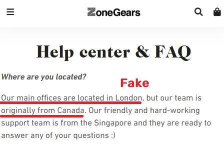 zone-gears scam fake location