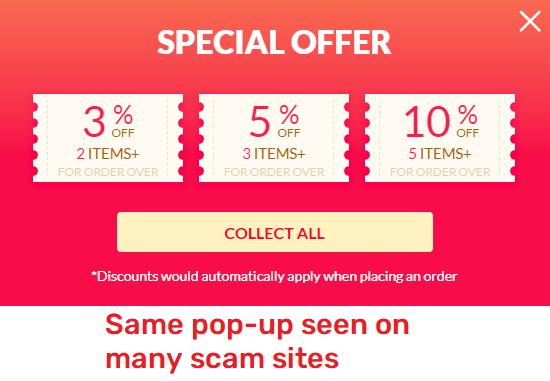 giantbeetech scam orange pop-up shoplazza