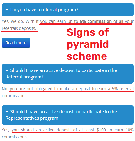 cramtrade scam referral pyramid scheme