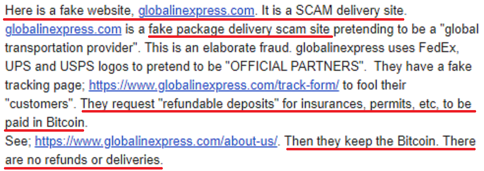 globalinexpress global line express scam review 1