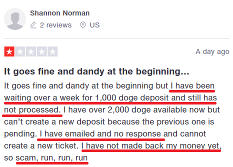 dogeland.io scam review 3
