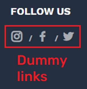 fake social icons 1