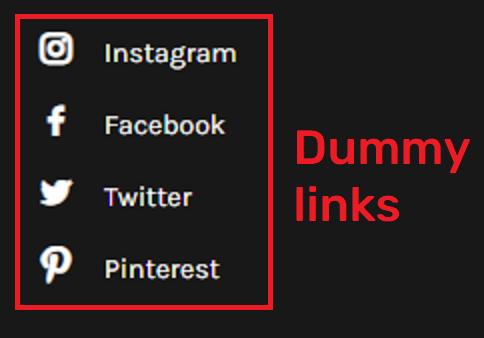 fake social icons 2