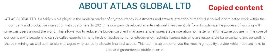 atlast-global scam about us page