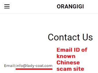 orangigi scam lady-coat email address