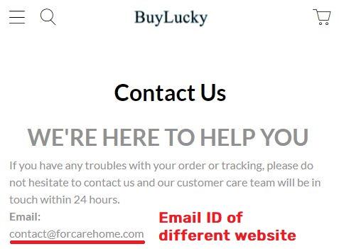 buyluckys scam contact