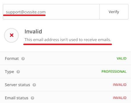 cvssite jobsvita scam fake email address