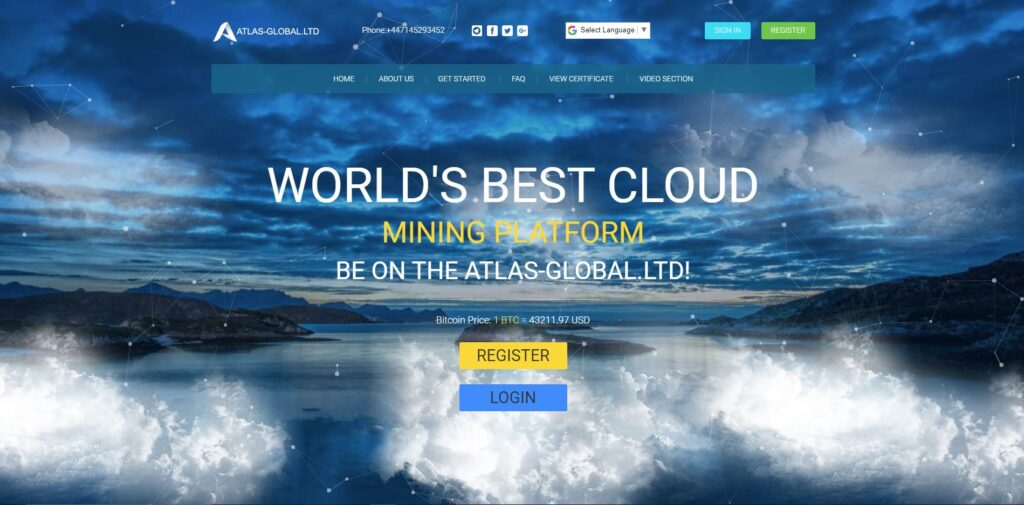 atlas-global scam home page