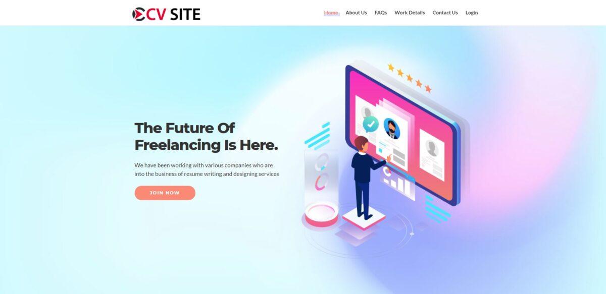 cvssite jobsvita scam home page