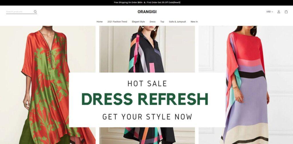 orangigi scam home page