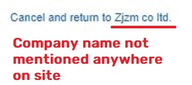 floralmoda scam zjzm co paypal account