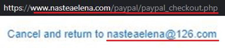 Nasteaelena scam paypal