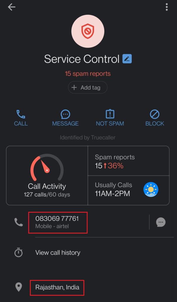cvssite jobsvita scam fake phone number