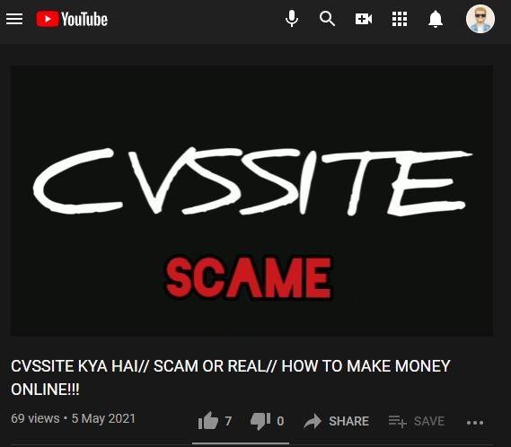 cvssite jobsvita scam review 3