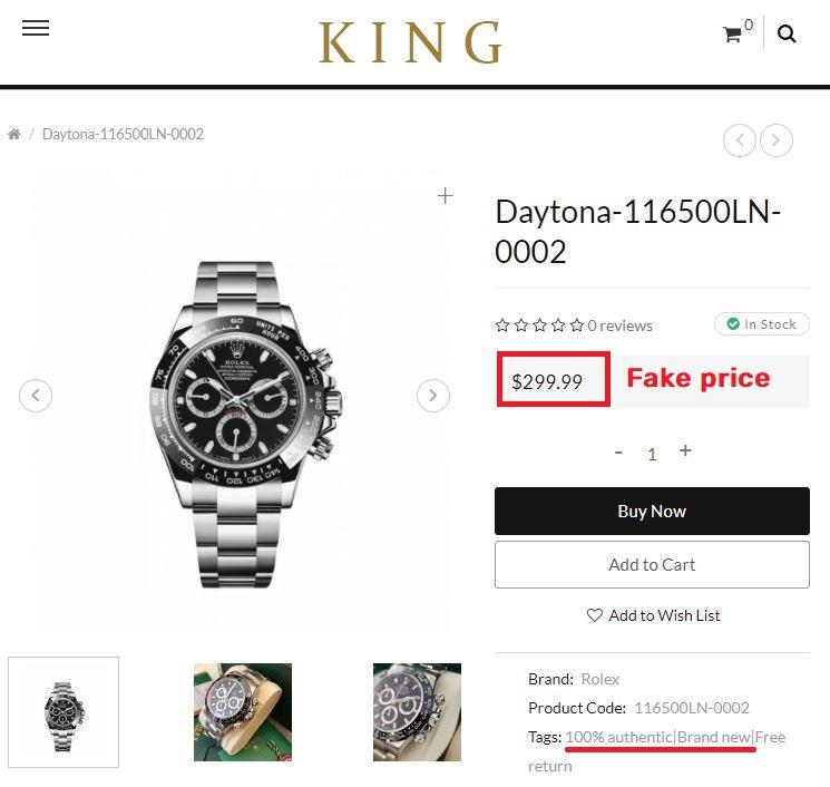 uniqpek scam rolex daytona fake price