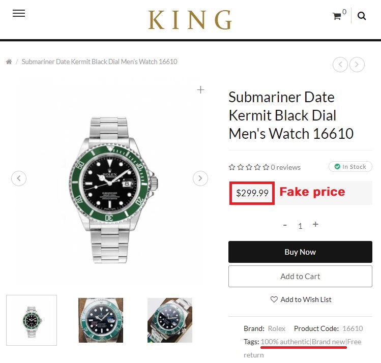uniqpek scam rolex submariner fake price