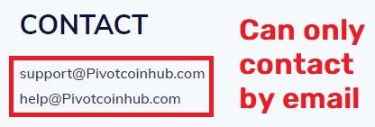 pivotcoinhub scam email address