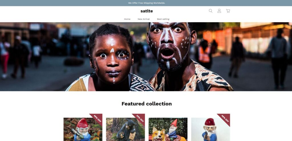 satlte scam home page