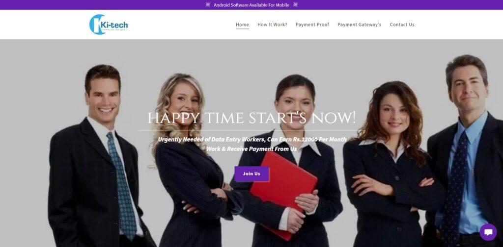 ki-tech kitech scam home page