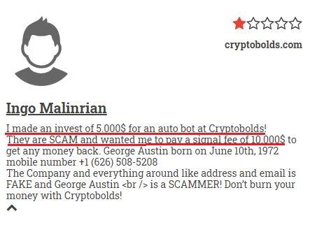 cryptobolds scam review