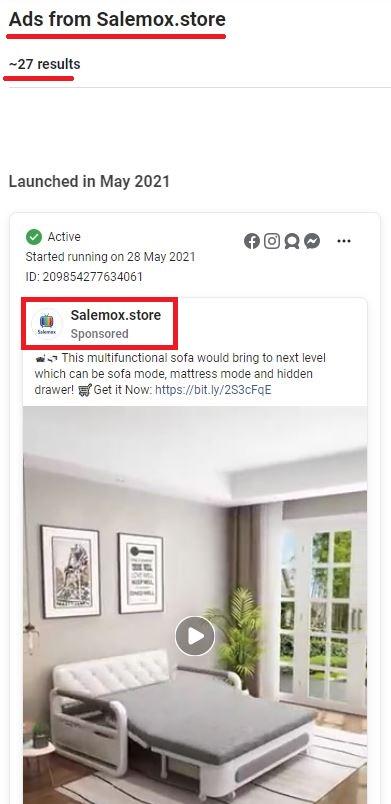 salemox scam facebook ads 2