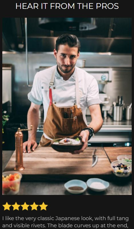 huusk scam fake chef testimonial 2