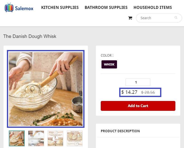 salemox scam dough whisk fake price