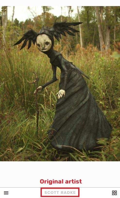 scott radke witch statue