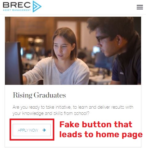 brec scam fake careers page