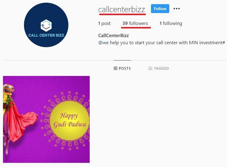callcenterbizz instagram