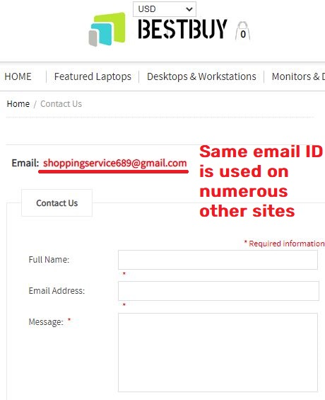 shoppingservice689@gmail.com scam email ID